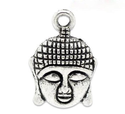 Buddha Head - Silver
