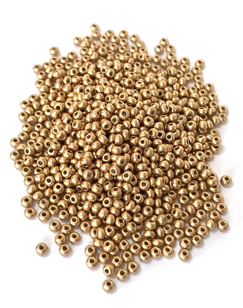 11/0 Seed Beads - Aztec Gold