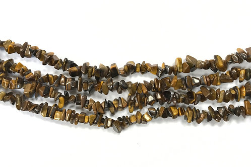 Tigers Eye Chip Beads