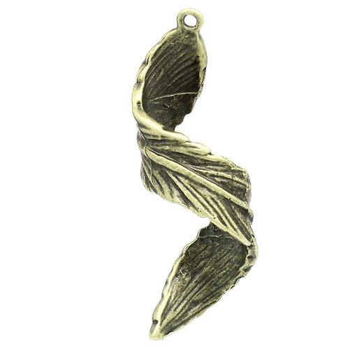 Twist Leaf - Bronze