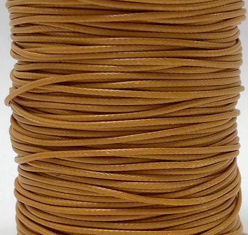 Wax Cotton Cord 1mm - Mustard