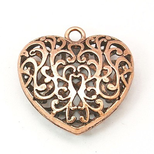 Hollow Heart - Copper
