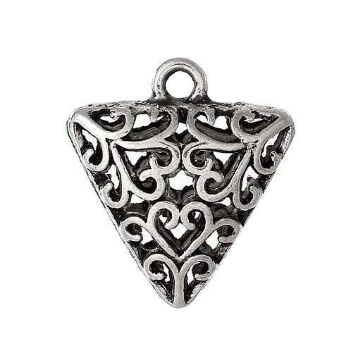 Hollow Triangle- Silver