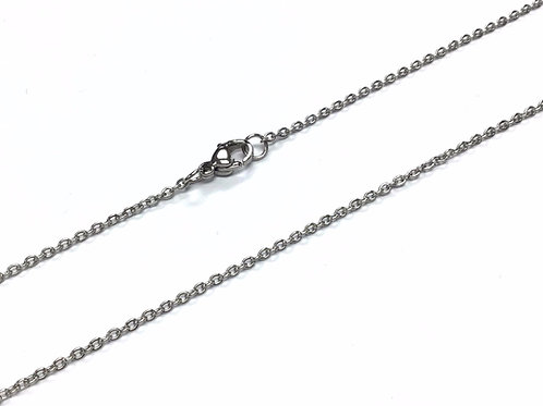 """Stainless Steel Cable Chain - 45cm (18"""")"""
