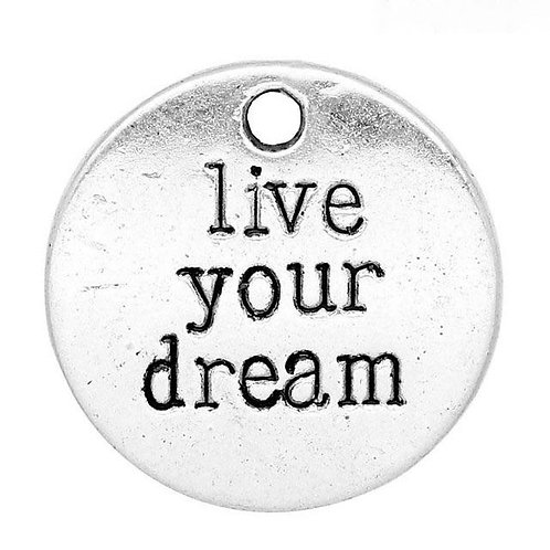 Live Your Dream Token - Silver