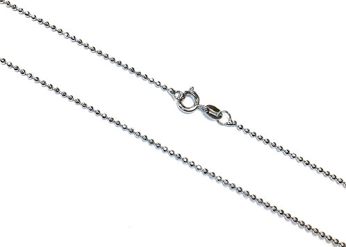 ball chain stainless steel 41cm