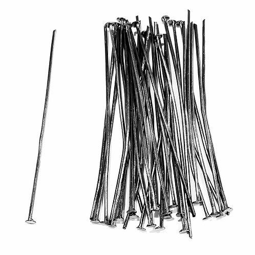 Head Pins 5cm - Gunmetal