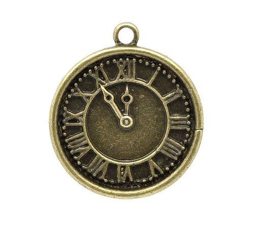 Clock Face - Bronze