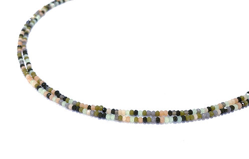 crystal glass rondelle beads 2mm