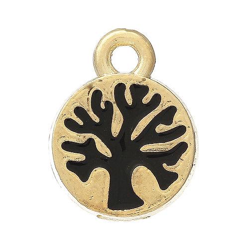 Tree Tag - Light Gold