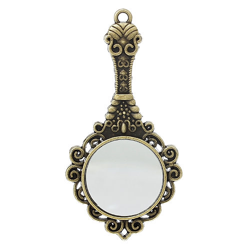 Hand Mirror - Bronze
