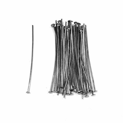 gunmetal head pins 4cm