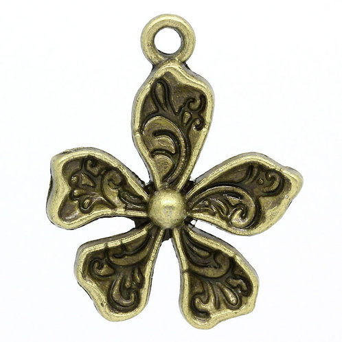 Flower - Bronze