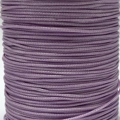 Wax Cotton Cord 1mm - Mauve