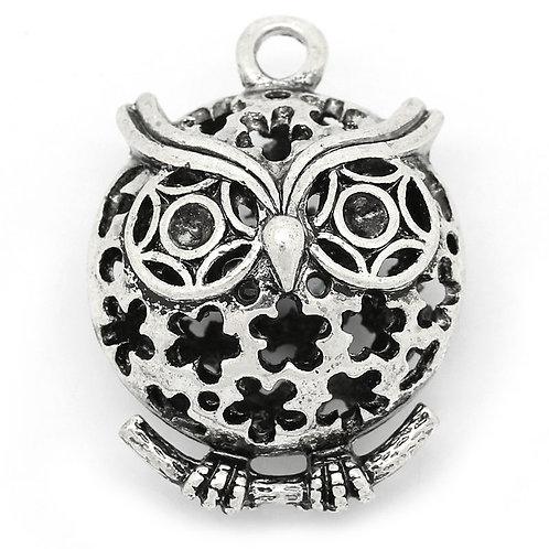 Hollow Owl - Silver