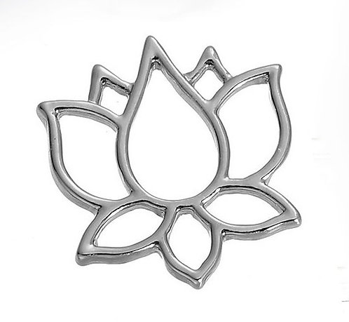 Lotus Flower - Silver