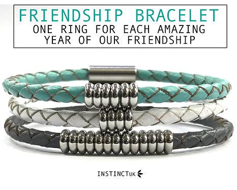 friendship leather bracelets
