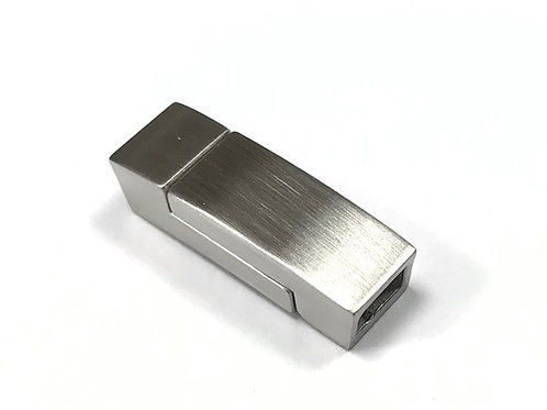 Stainless Steel Matte Magnetic Clasp - Fit 5x3mm