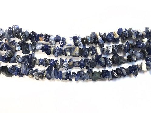Sodalite Chip Beads