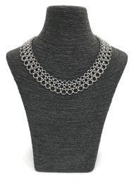 handmade chain maille necklace