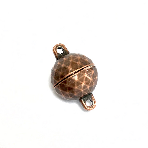 Copper Plated Magnetic Clasp -17x11mm