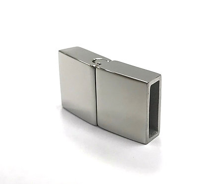 Stainless Steel Magnetic/Slide Cord Clasp 22x12