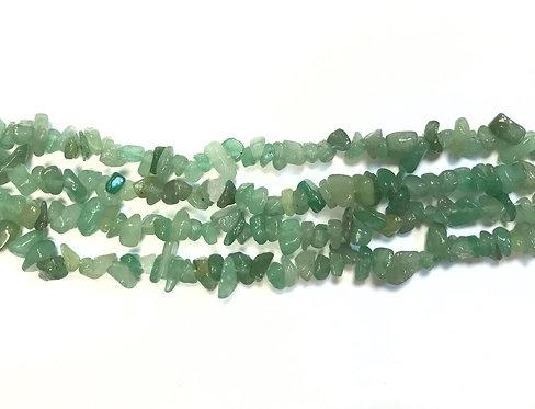 Aventurine Chip Beads