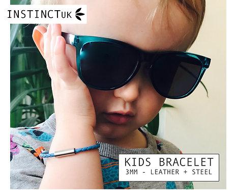 KIDS LEATHER BRACELET -  Add Matching Family Bracelets