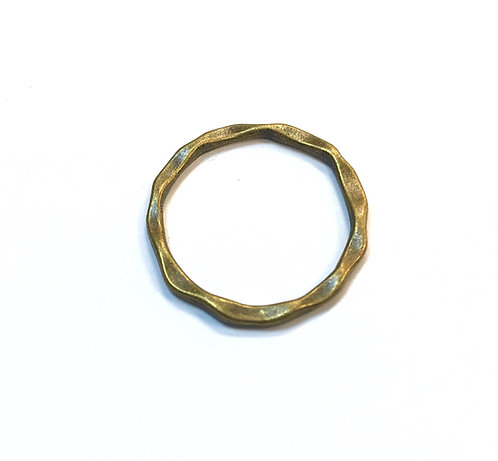 Linking Ring/Connector, Bronze Tone