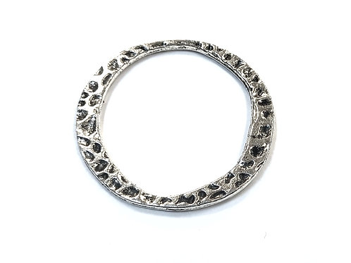 Ring Link, Silver Tone