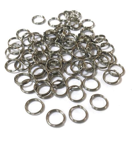stainless steel split rings 7mm