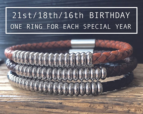 birthday bracelet for him