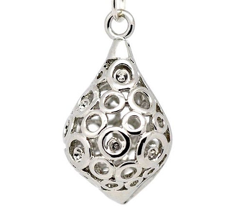 Circle Drop - Silver