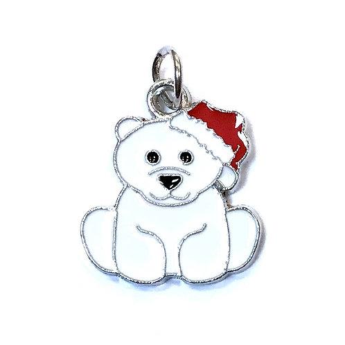 Christmas Bear - Silver