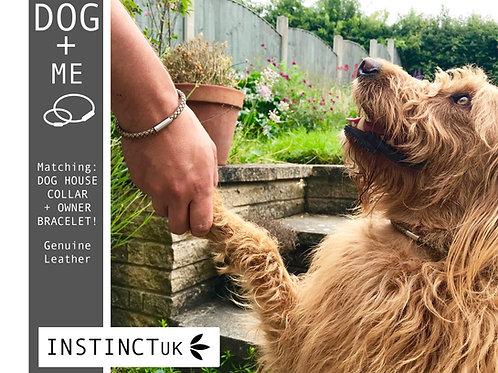 DOG + ME  - Dog House Collar (necklace) and Bracelet Matching Set!