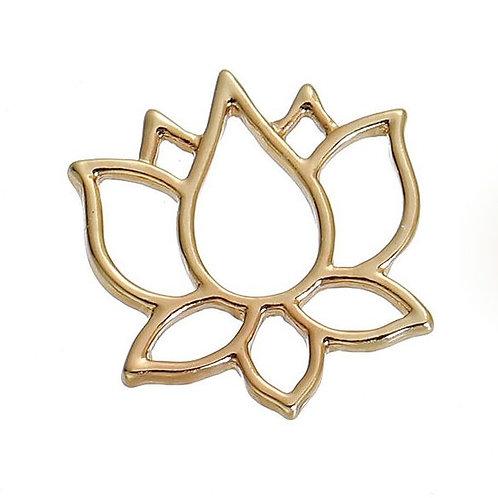 Lotus Flower - Light Gold