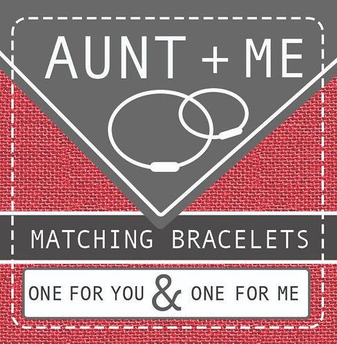 AUNT + ME info card