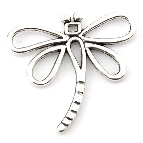 Small Dragonfly - Silver