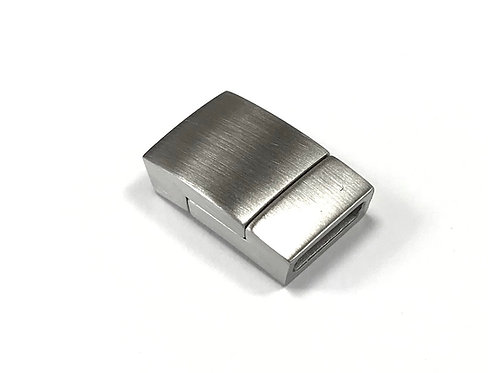 Stainless Steel Matte Magnetic Clasp - Fit 10x2.5mm