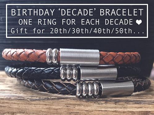 birthday bracelet for him