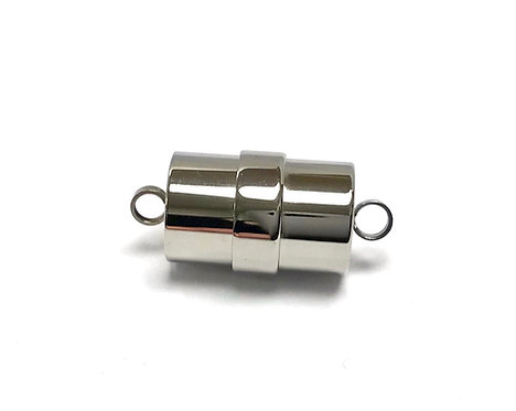 Stainless Steel Magnetic Clasp, Column- 22mm