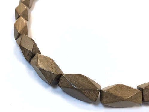 greywood diamond cut beads