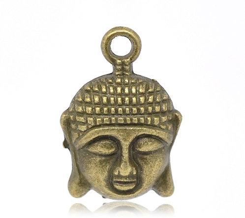 Buddha Head - Bronze
