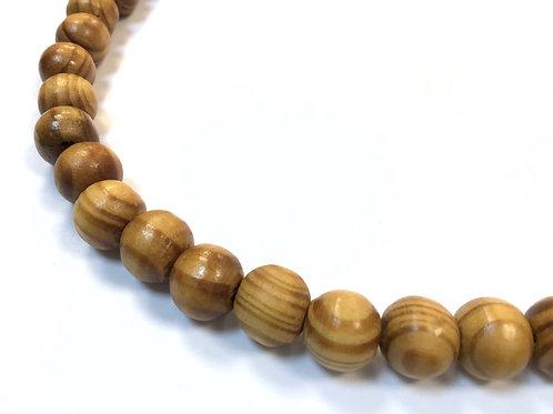 wood beads 10mm