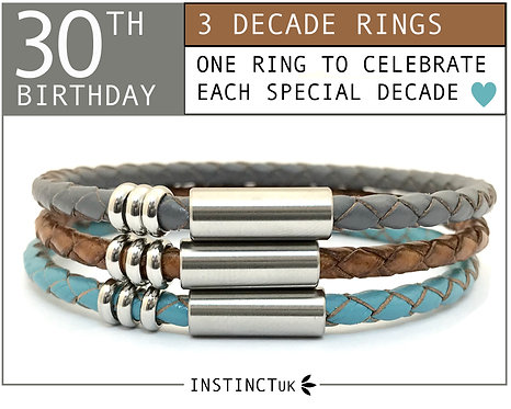 30TH DECADE BRACELET FOR HER
