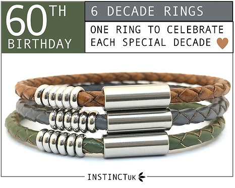 60TH DECADE BRACELET FOR HER
