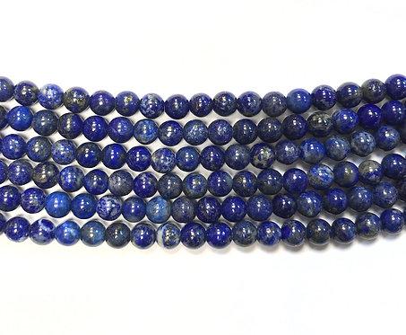 6mm Lapis Lazuli Beads