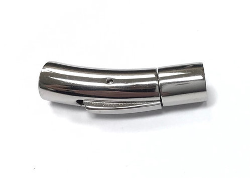 Stainless Steel Bayonet Clasp - Fit 5mm