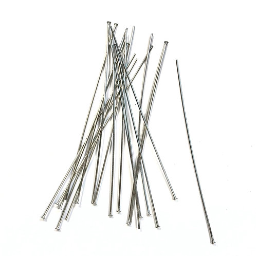 75mm - Stainless Steel Head Pins