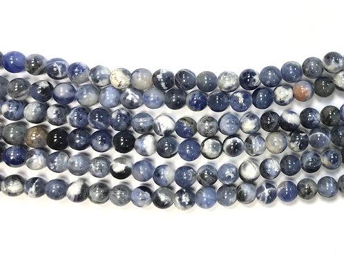 6mm Sodalite Beads